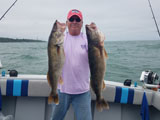 Trophy Charters - Lake Erie Walleye charter